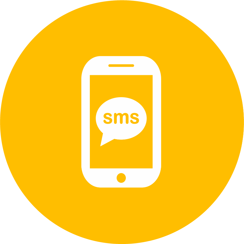 SMS Share Button